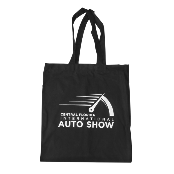 Speedometer Black Tote Bag