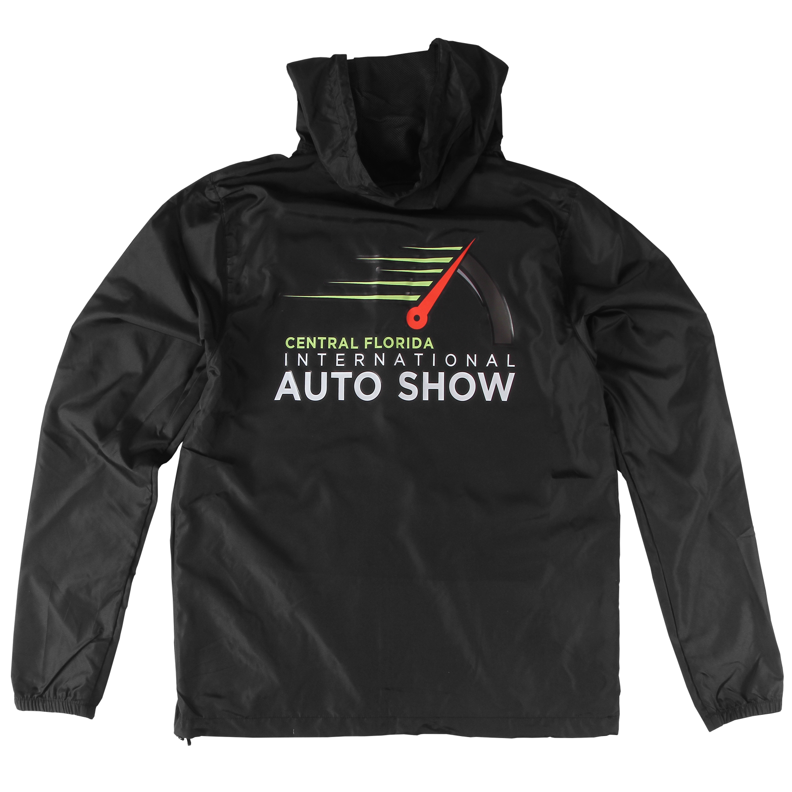 Odometer Black Windbreaker