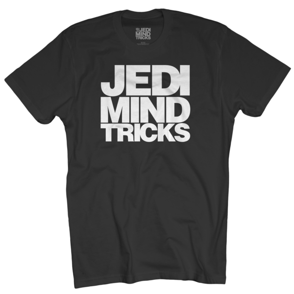 JMT Stacked Logo on Black T-Shirt