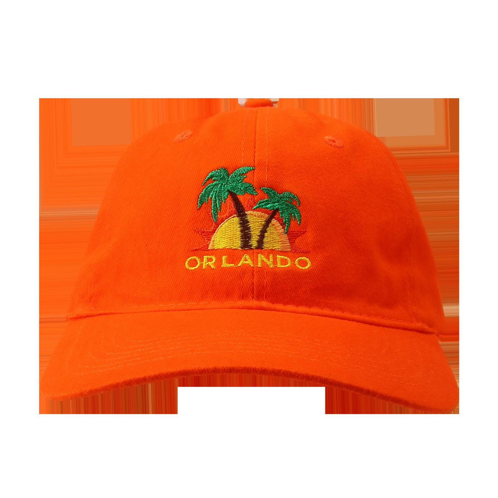 Orange Low Profile Hat