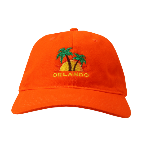 Orange Low Profile Hat