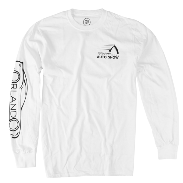 Odometer White Long Sleeve
