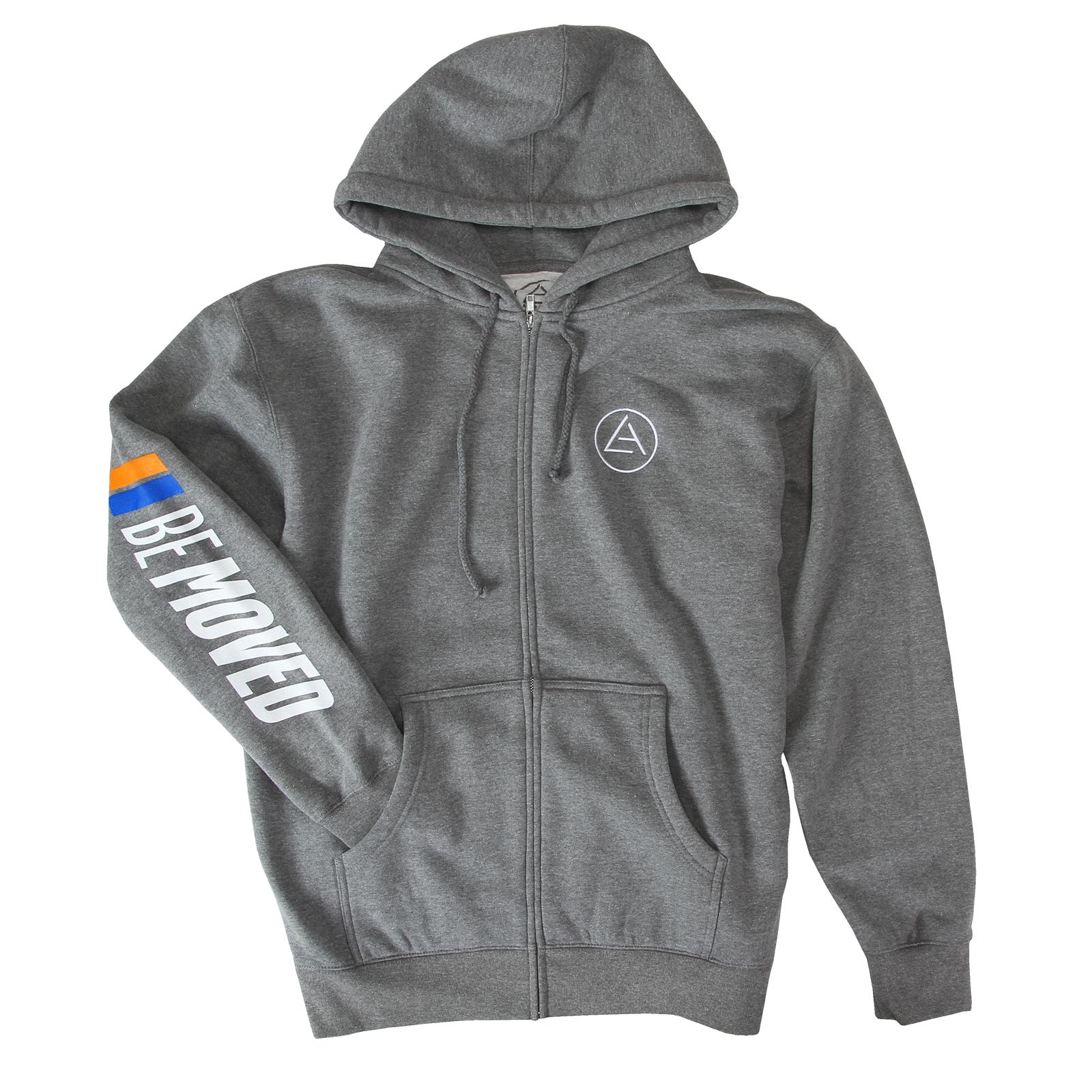 Be Moved Zip Up Sweatshirt