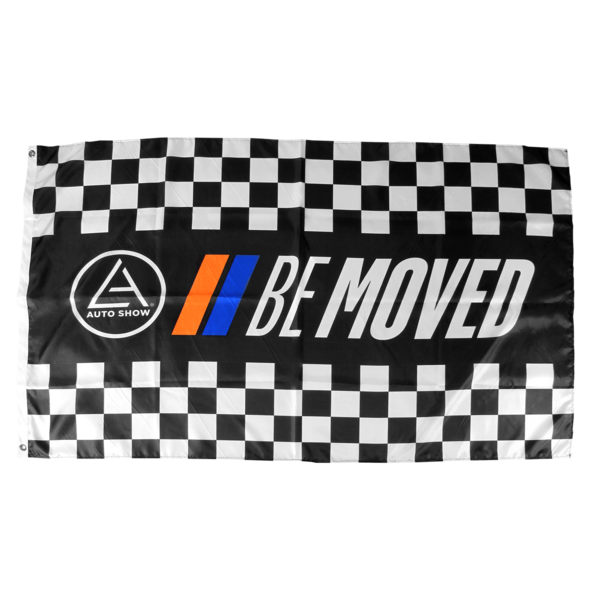 2018 Be Moved Flag