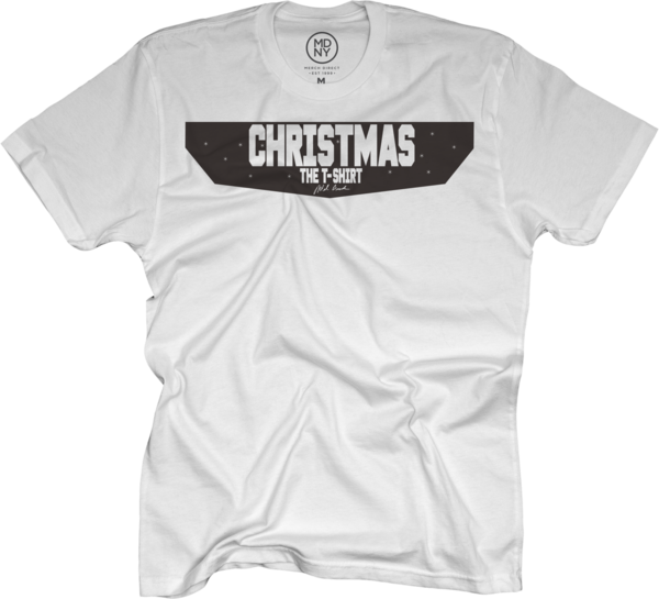 Christmas. The T-Shirt on White