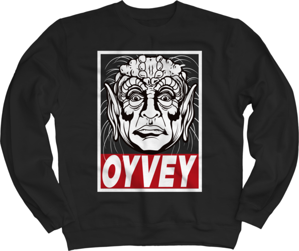 Yogurt Oy Vey Black Crewneck