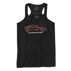 2018 Car Women's Racerback Tank
