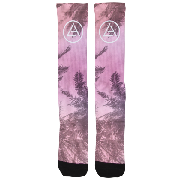 Palm Dye Sub Socks