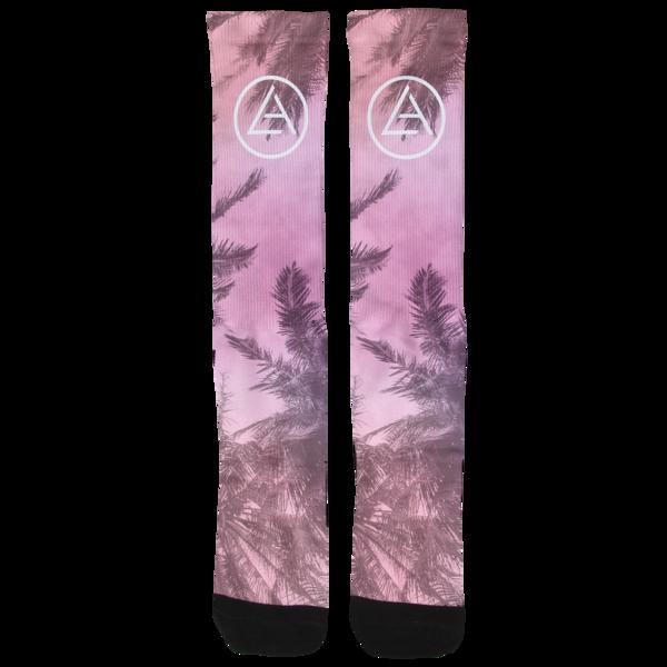 Palm Dye Sub Socks
