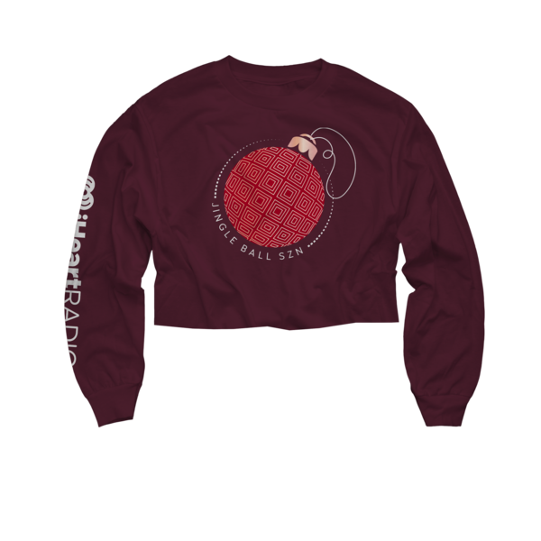 2018 Jingle Ball Tour Long Sleeve Crop