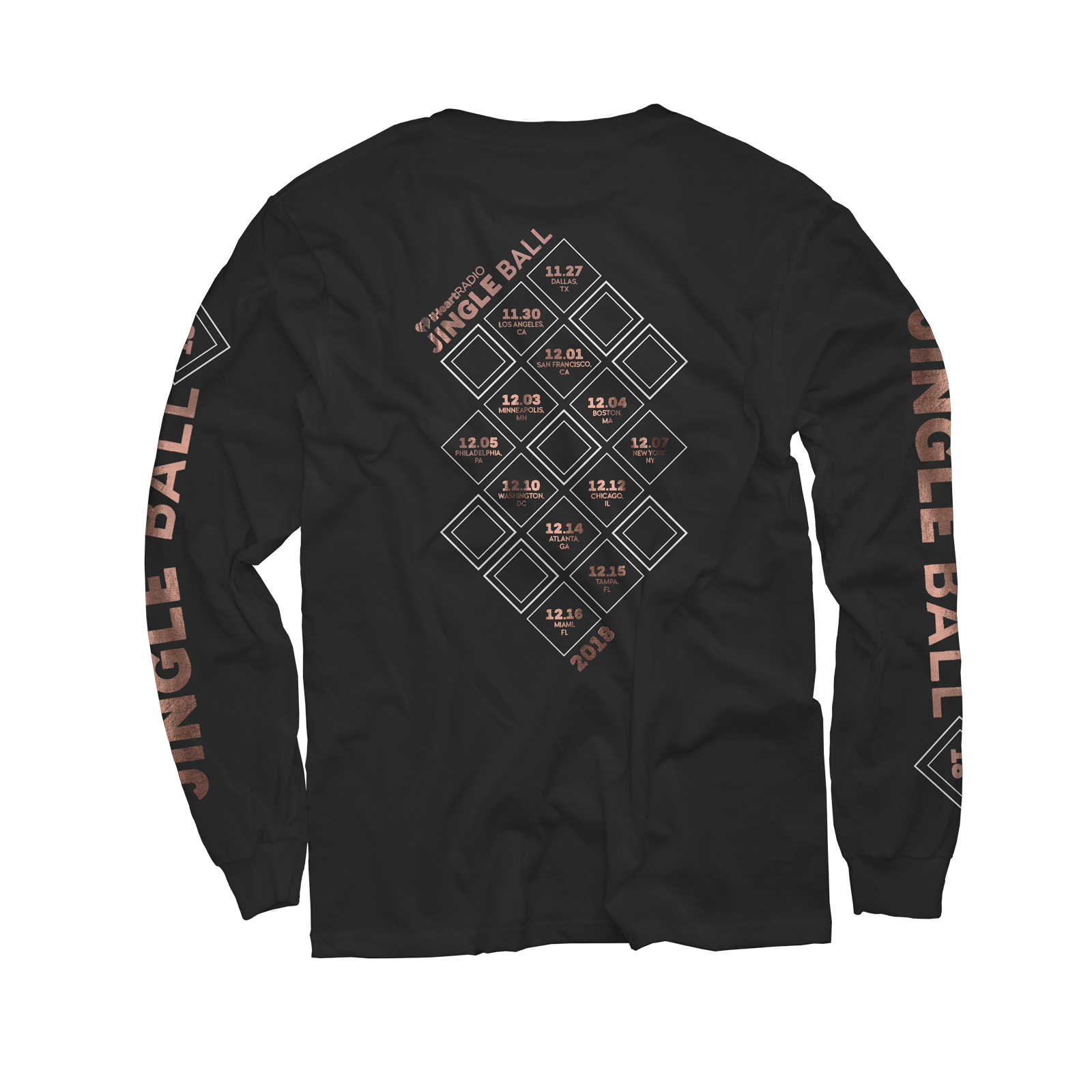 2018 Jingle Ball Tour Long Sleeve