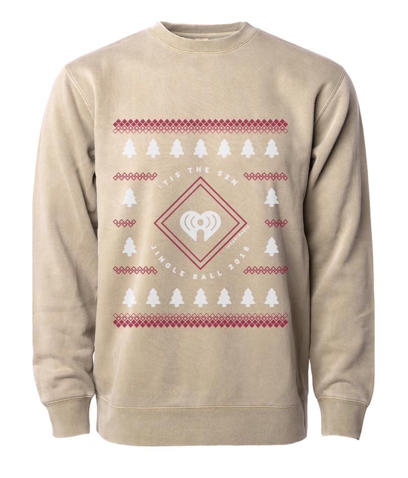 2018 Jingle Ball Tour Holiday Sweater Crewneck