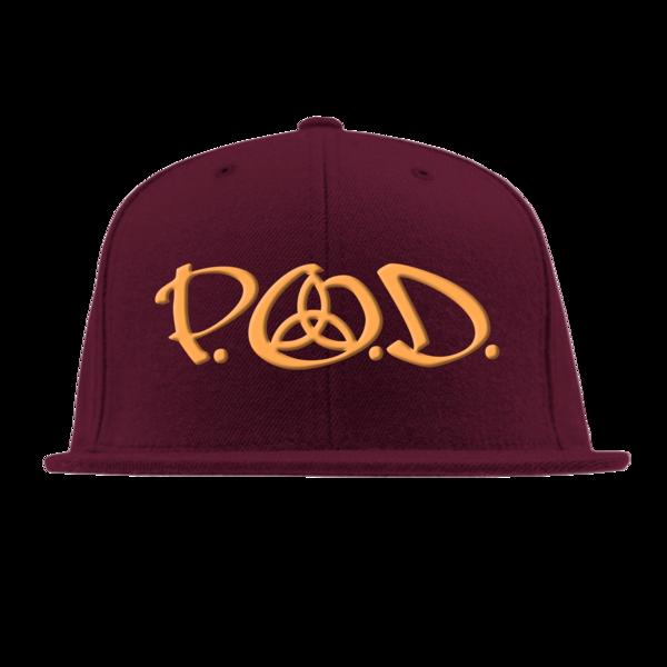 P.O.D. Maroon Snapback