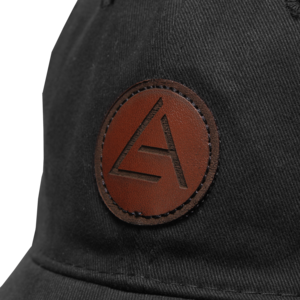 Embossed Patch Black Dad Hat