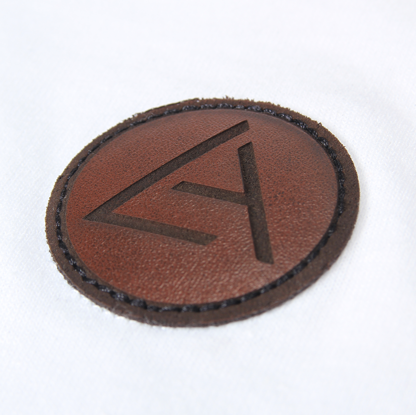 Embossed Patch Polo Shirt