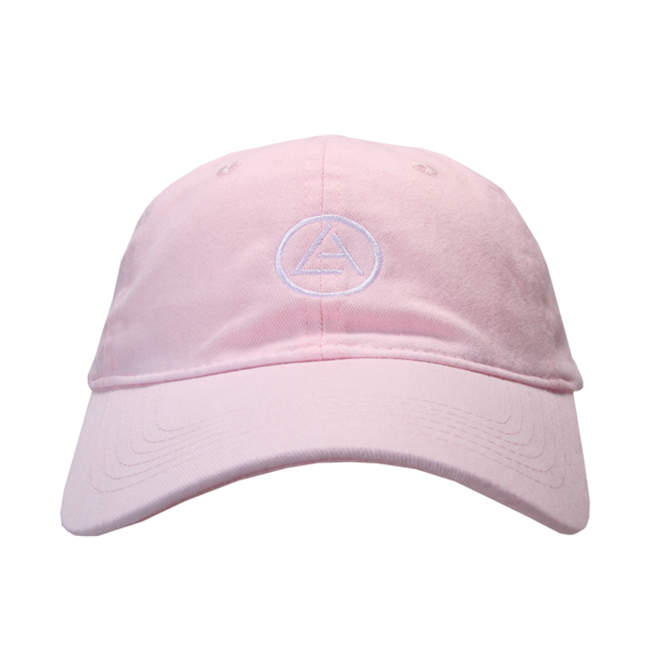 Embroidered Light Pink Dad Hat
