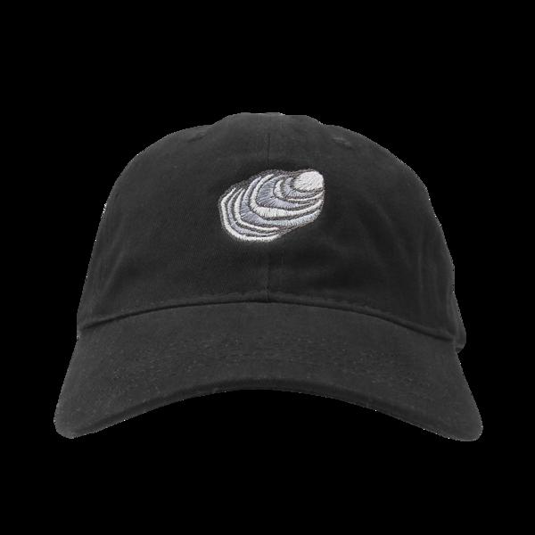 Oyster Black Dad Hat