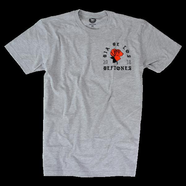 DDLD Rose on Grey T-Shirt