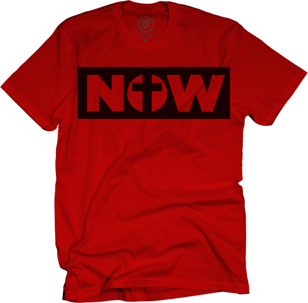 Now on Red T-Shirt