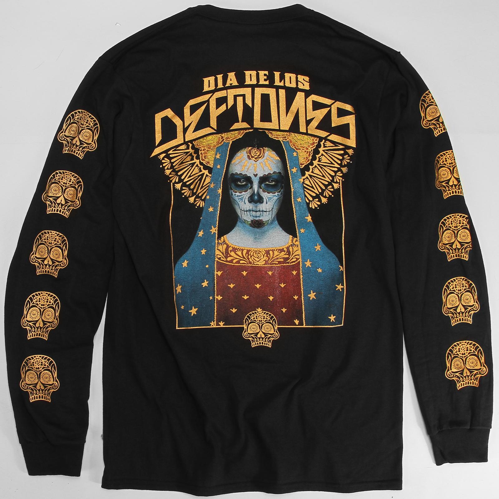 DDLD SkullWave Black Long Sleeve
