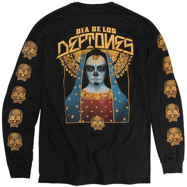 DDLD SkullWave Black Long Sleeve