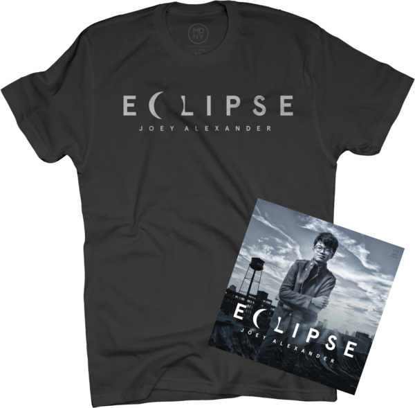 Joey Alexander - Eclipse Limited Edition CD + T-Shirt Bundle (Black)