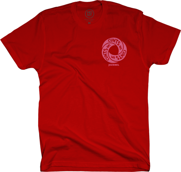 Cunt Infinity Red Unisex T-Shirt
