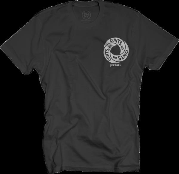 Cunt Infinity Unisex Black T-Shirt