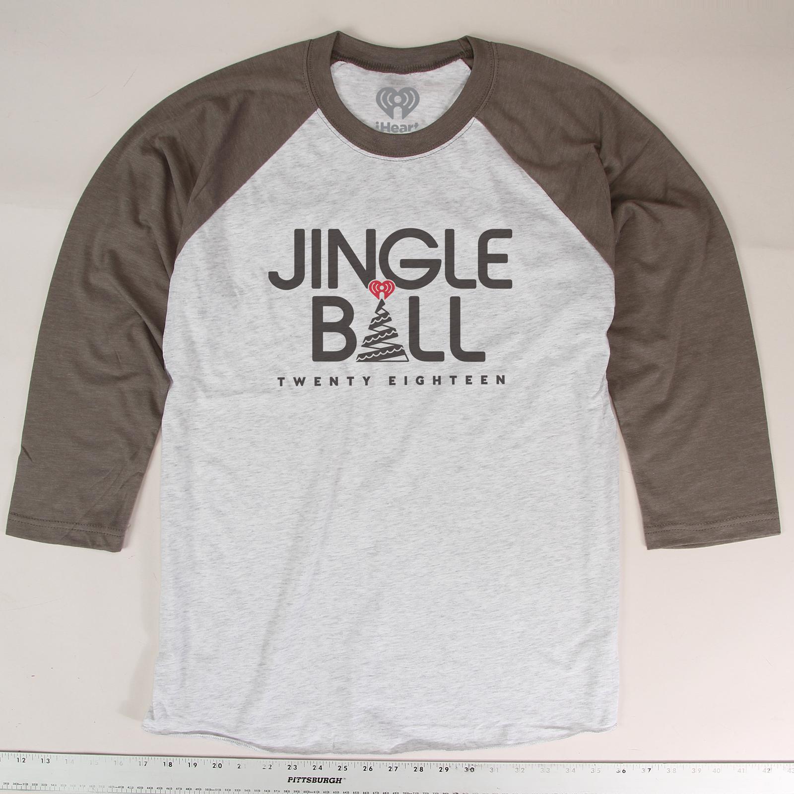 2018 Jingle Ball Tour Baseball Tee