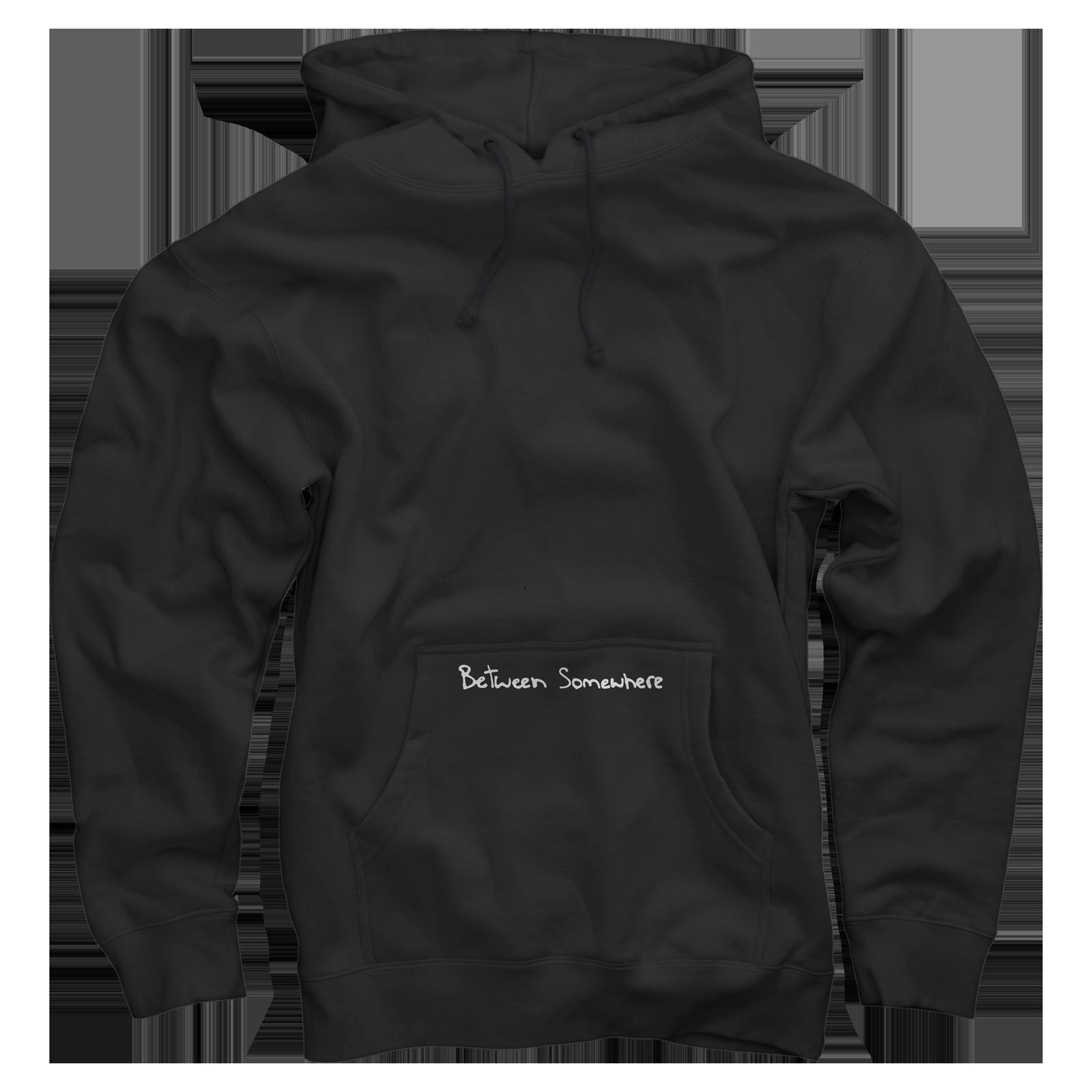 Between Somewhere Black Pullover v2