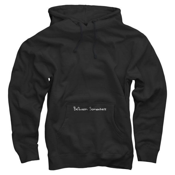 Between Somewhere Black Pullover v2