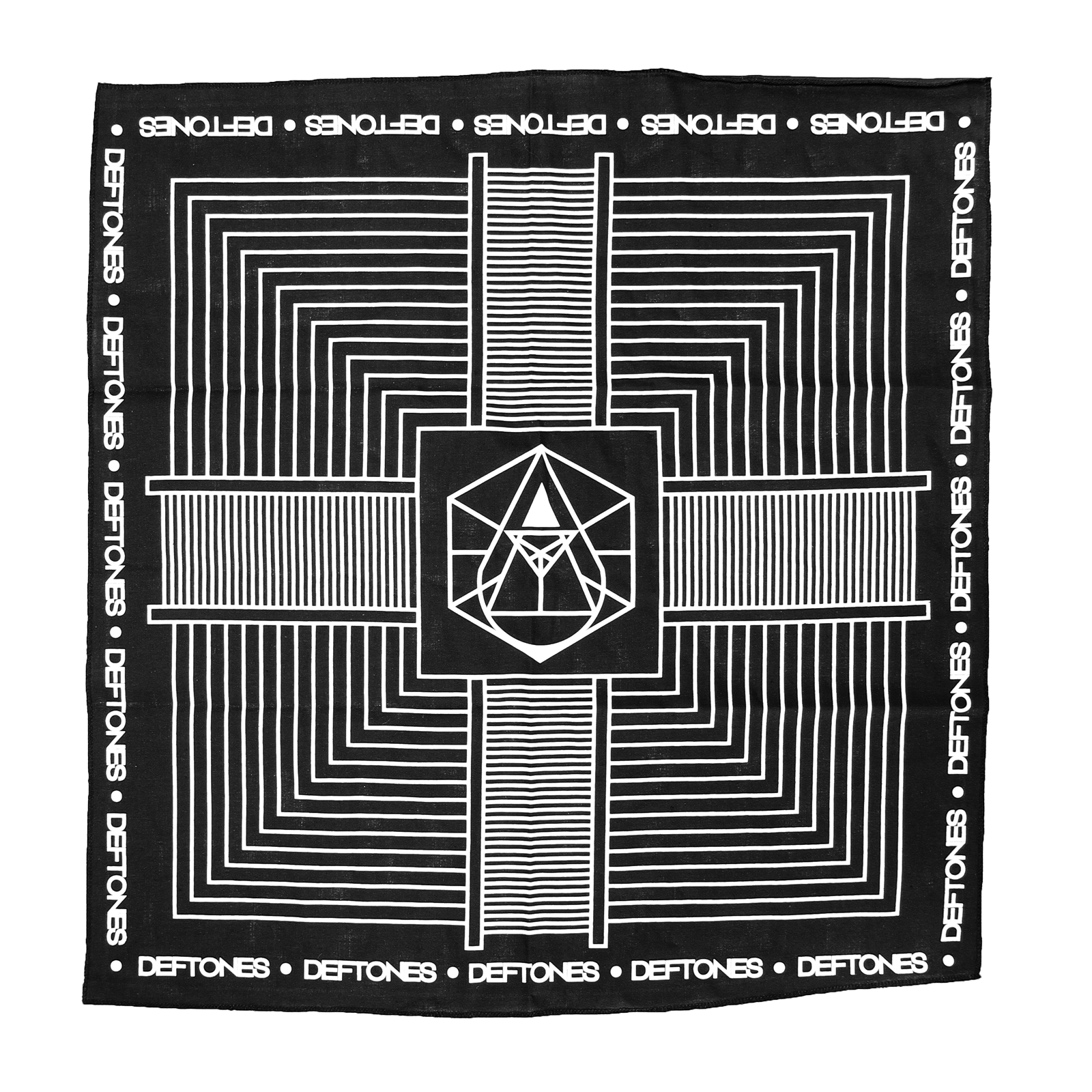 Diamond Eyes X Prism Black Bandana