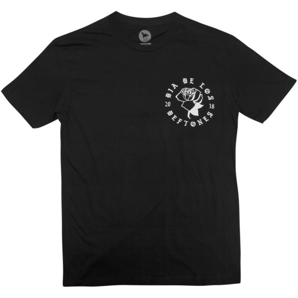 DDLD Rose on Black T-Shirt