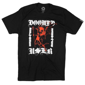 Doomed User Black T-Shirt