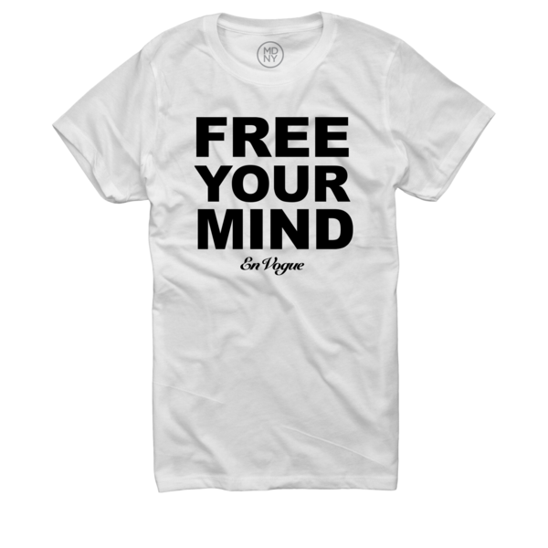 Free Your Mind Women's White T-Shirt