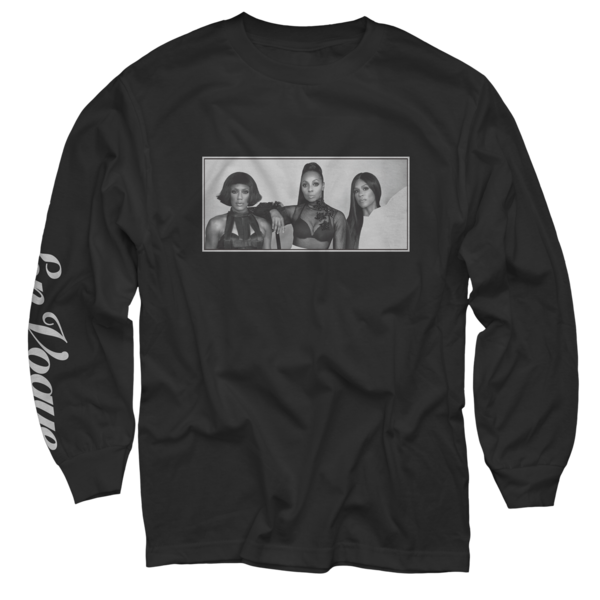 Soul Shaking Black Long Sleeve