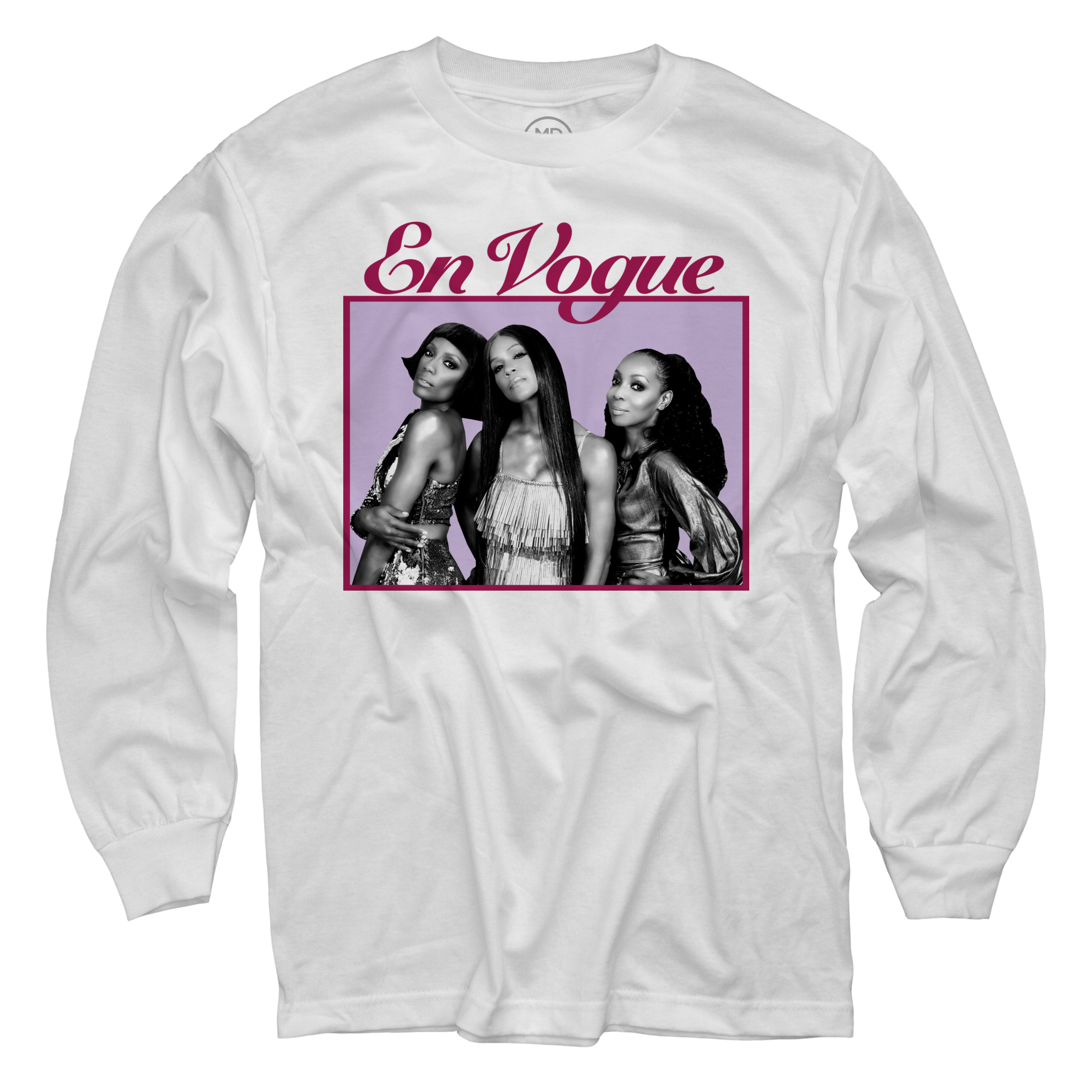 More Than Friends White Long Sleeve