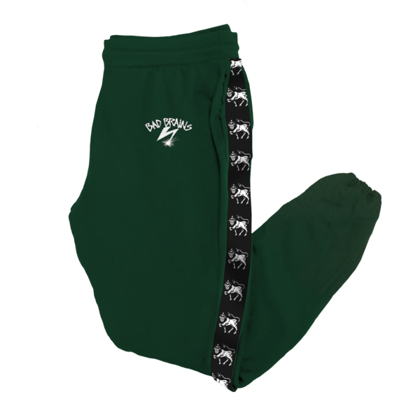 Lion Piping Forest Green Sweatpants