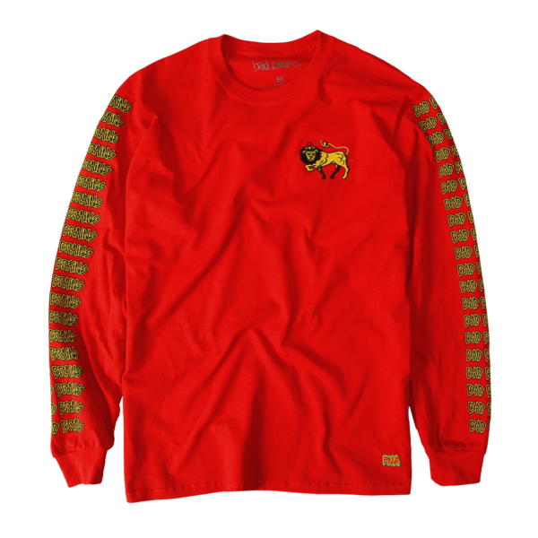Lion Embroidered Long Sleeve