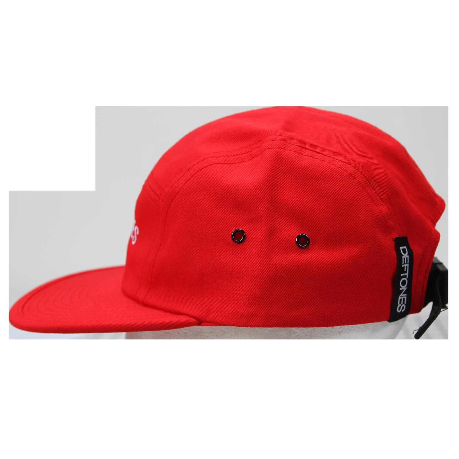 Logo Red 5-Panel Camper