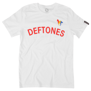 Technicolor Pony on White T-Shirt