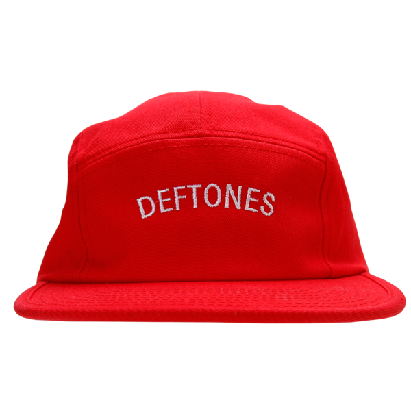 Logo Red 5-Panel Camper