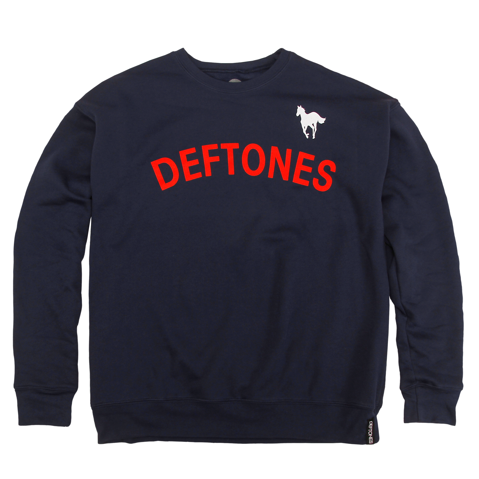 Collegiate Navy Crewneck