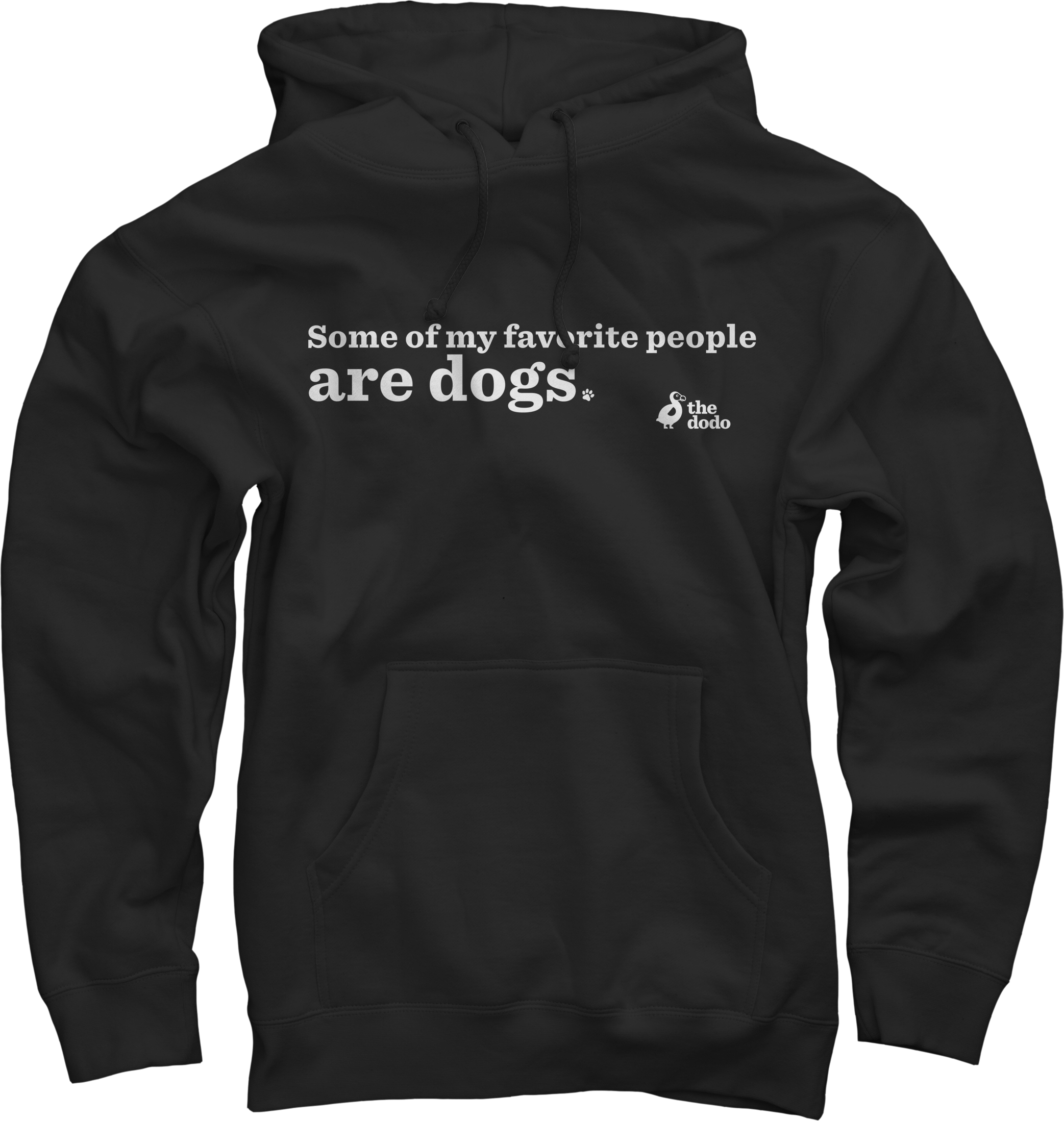 Some Of My Fave People Are Dogs Hoodie