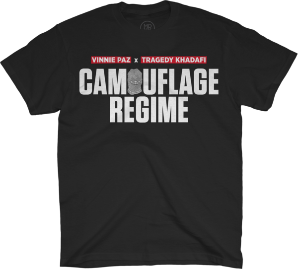 Camouflage Regime Black T-Shirt