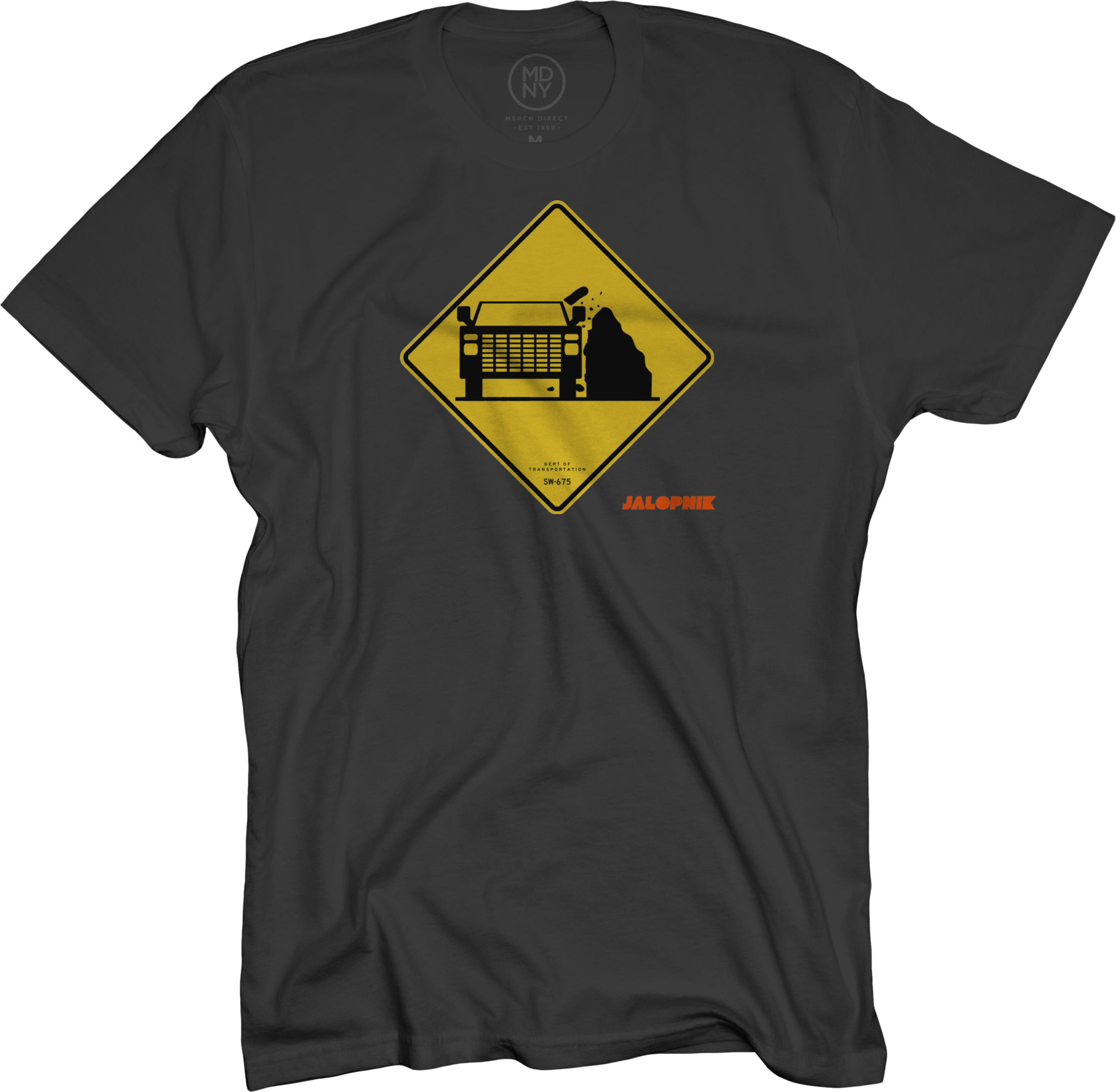 Rocks Black T-Shirt