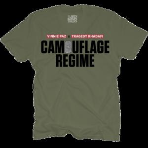 Camouflage Regime Olive T-Shirt + CD