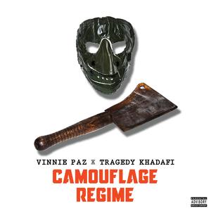 Camouflage Regime Black T-Shirt + CD Bundle
