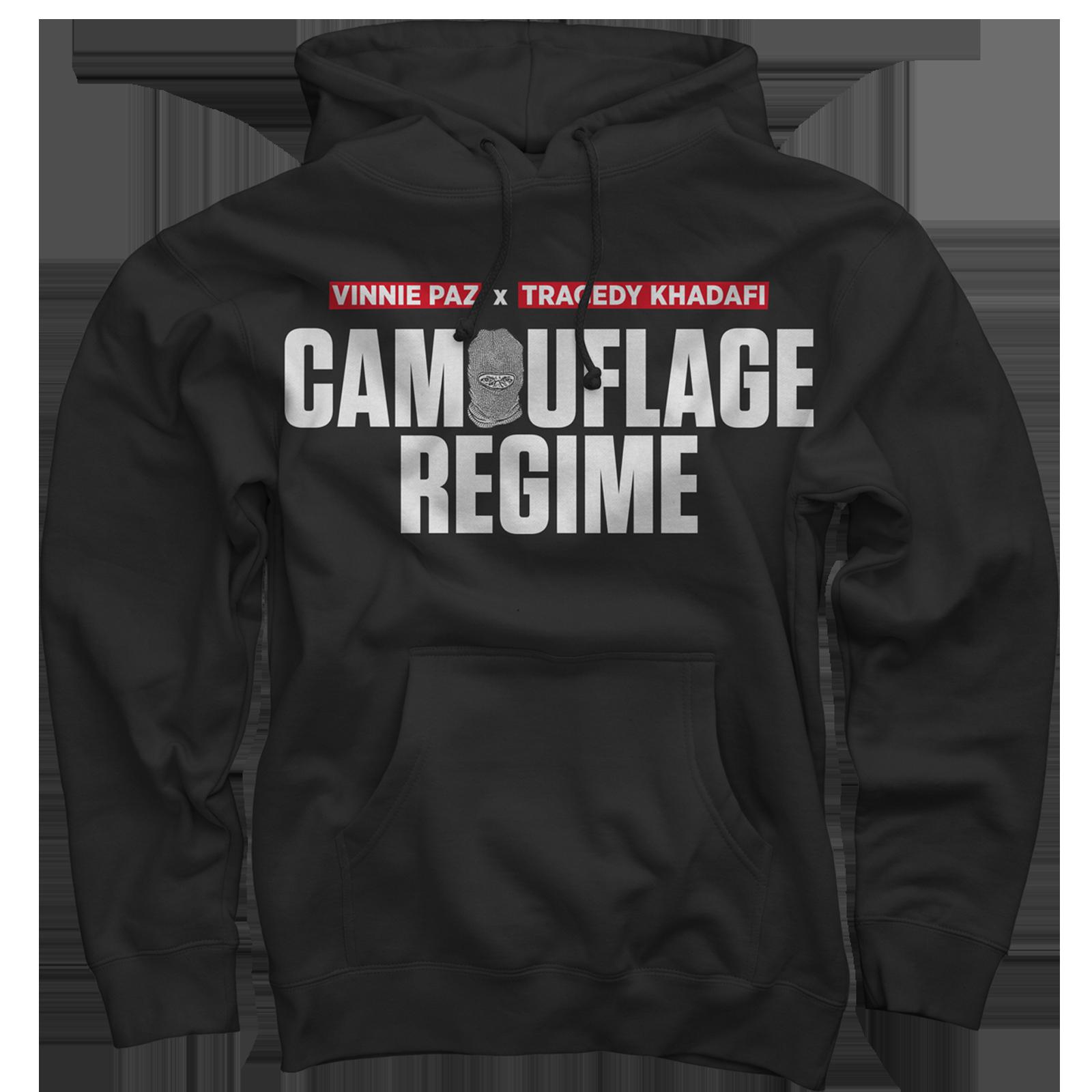 Camouflage Regime Black Pullover