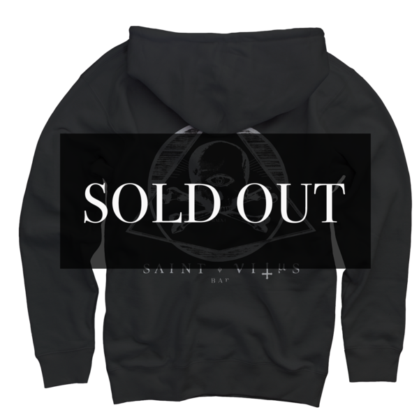 St. Vitus Patch Black Zip Up